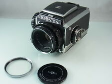 Zenza Bronica SLR S chrome 6x6 Mittelformat-kamera Nikkor P 2,8/75mm