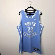 Jordan North Carolina Tar Heels Stitched Basketball Jersey Xl