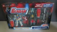 BanDai Mobile Suit Gundam 2001 Deluxe Edition RX-78 Gundam & G-Fighter MIB