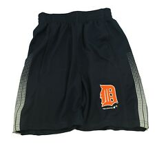 Detroit Tigers Kids Youth Size Official MLB Athletics Shorts New with Pockets