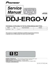 Service Manual Manual for Pioneer Ddj-Ergo-V