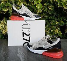 ❤ BNWB & Genuine Nike ® Air Max 270 Light Bone / Hot Punch Trainers UK Size 10