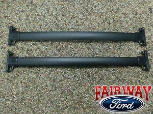 08 09 10 11 12 Escape OEM Genuine Ford Black Roof Rack Cross Bar Set 2-piece NEW