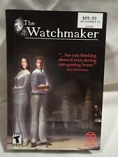 Watchmaker (PC, 2002) Complete boxed game, fast shipping, adventure game