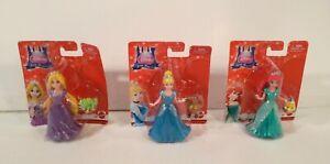 Disney Little Kingdom Princess Ariel,Rapunzel & Cinderella Magiclip Magic clip