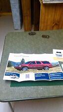 Chevrolet Suburban 2011 Promo Poster Vg Man Cave