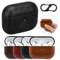 Luxury Shockproof Leather Bag Case Cover For AirPods Pro Protective Accessories