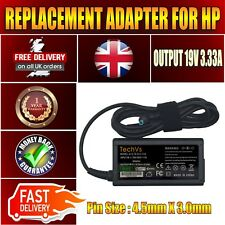 New 65W TECHVS Replacement Adapter for Hp Compaq Pavilion 15 N086SL Charger