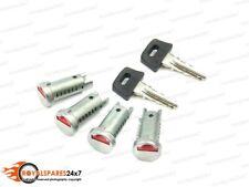 Piaggio 4 Barrels & 2 Key To Fit Toolbox Ignition & Seat fits Vespa PX LML 2T