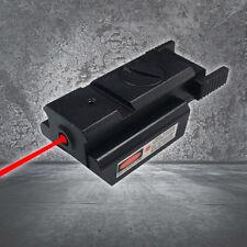 Mini Red Dot Compact Rail Red Laser Sight Weaver for Gun Pistol Rail Mount