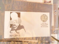 1988 NEW ZEALAND  FIRST DAY  COVER ROUND KIWI $1 STAMP