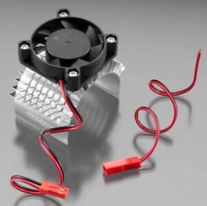 NEW Integy Super Motor Heatsink+Cooling Fan 750 for Traxxas Summit FREE US SHIP