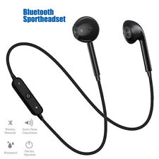 Bluetooth Wireless Headphones Headsets Earphone Neckband Sport Earbuds With Mic
