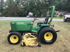 John Deere 955 4X4 Mower Tractor with Only 1425 Hours