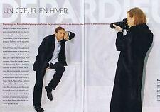 COUPURE DE PRESSE CLIPPING 2009 Depardieu père & fils  (4 pages)