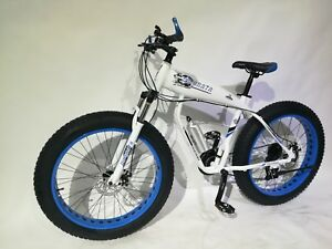 "Big Fat Aluminium Bike 27 Speed shimano 19"" frame new design over 27'' x 4.0''"