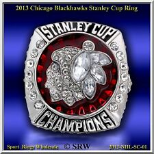 2013 CHICAGO BLACK HAWKS  Stanley Cup Champions   RING SiZE 10.75