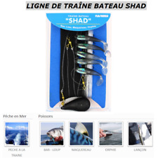 LIGNE DE TRAÎNE BATEAU SHAD / SHAD BOAT TRAIL LINE