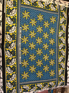 Kenya Kanga African Wrap African Fabric