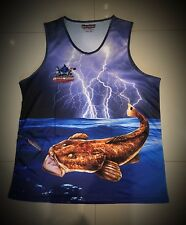 New Killer Crank Flathead Fishing Singlet - All Kids & Adult Sizes