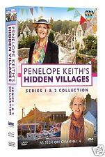 Penelope Keith's Hidden Villages: Series 1+2  [UK TV SHOW] (DVD)~~~~NEW & SEALED