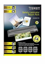 TEXET Laminadora Bolsas Variedad Bolsa Pack (paquete de 50) A4 A5 A6 B tarjeta GX10