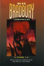 RARE EO N°  RAY BRADBURY + MIGNOLA 5 SIGNATURES : RAY BRADBURY CHRONICLES N° 5