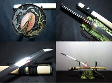 battle ready clay tempered sanmai blade full tang jp samurai katana sword sharp