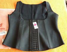 Lover-Beauty Womens Underbust Corset Waist Cincher Body Shaper Vest 4XL Black 20