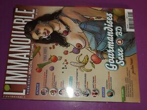 25$$ Revue L'Immanquable HS n°17 Gourmandises Sexe & BD