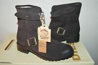 CHAUSSURE BOTTES  FOURRE  CUIR DIESEL TAILLE 36 / US 6 BOOTS/BOTAS/STIVALI NEUF