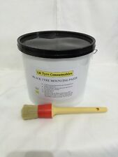 BLACK TYRE FITTING PASTE WITH FREE BRUSH - PREMIUM LUB /SOAP /PASTE TYRE CHANGER
