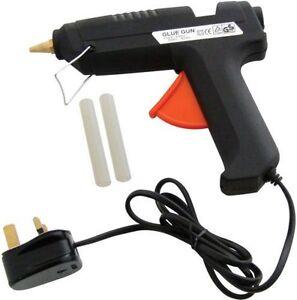 10W HOT MELT GLUE GUN ADHESIVE ELECTRIC HOBBY CRAFT MINI STICKS & REFILLS DIY