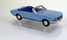 Wiking 020548 Ford Mustang T5 Cabriolet hellblau Scale 1 87 NEU OVP
