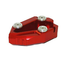 Kickstand Side Stand Extension Plate Pad Red Fit 2011-2016 DUCATI Diavel 1200 AU
