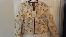 Next ladies Floral jacket - size 10