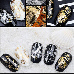 Nail Sticker Gold And Silver Foil Decorative Nail Crystal Light Retouching Manic