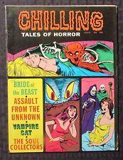 1971 CHILLING TALES OF HORROR Stanley Magazine v.2 #4 FN 6.0 Vampire