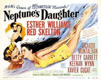 Neptune's daughter Esther Williams movie poster print