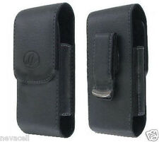 Leather Case Pouch for Net10/TracFone LG 501c LG501c Saber, 500g LG500g, C710