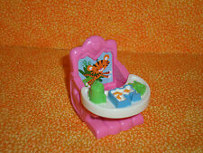 Fisher Price Loving Family Pink Baby Booster Seat with Tray