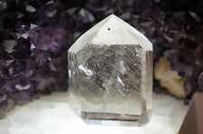 Fantastic Large Crystal Rutilated Quartz Polished Point From Brazil 1167 Carats