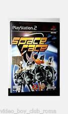 SPACE RACE GIOCO USATO SONY PS2 EDIZIONE ITALIANA MANUALE MANCANTE  PG 30841