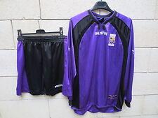 VINTAGE Maillot ISTRES porté n°6 + short Baliston match wonr shirt ancien