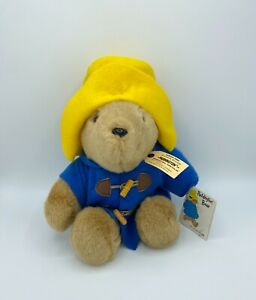 "Vintage with Tags Paddington Bear 15"" Stuffed Animal Plush Eden Toys"
