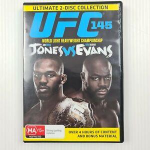 UFC 145 - Jones vs Evans - 2 Disc Collection - Region 4 - TRACKED POST