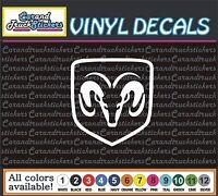 "DODGE Ram Hemi Car Truck window wall vinyl sticker decal 12"""