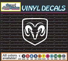 "DODGE Ram Hemi Car Truck window wall vinyl sticker decal 8"""