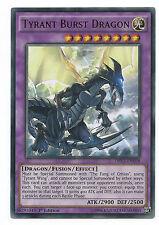 Tyrant Burst Dragon DRL3-EN058 Ultra Rare Yu-Gi-Oh Card 1st Edition English Mint