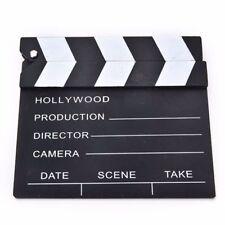 Wooden Clapper Scene Prop Film Cut Movie Board Clapperboard